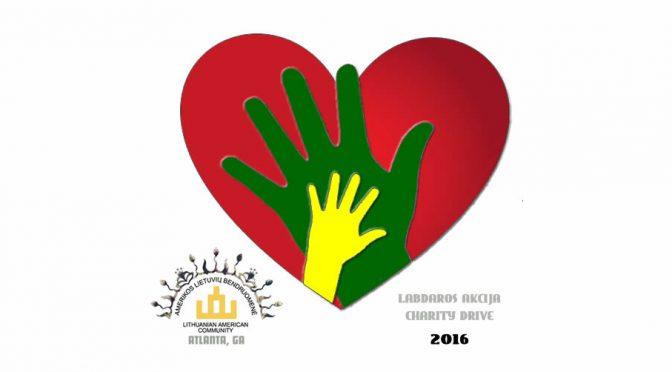 Labdaros Akcija / Charity Drive